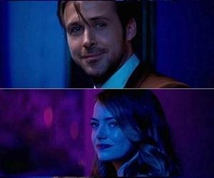 emma stone, movie, and ryan gosling image