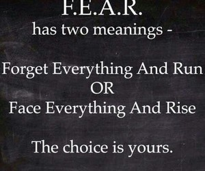 choice, fear, and meaning image
