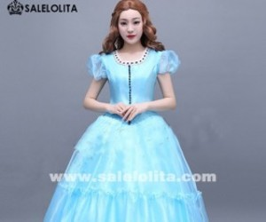 alice in wonderland dress, alice kingsleigh cosplay, and alice kingsleigh dress image