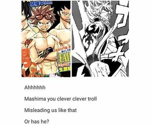 art, manga, and fairy tail image