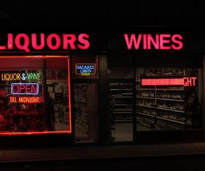 neon, glow, and wine image