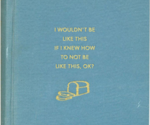 quotes, blue, and book image