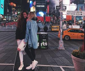 friendship, goals, and new york image