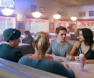 riverdale, betty cooper, and archie andrews image