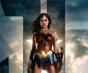wonder woman, justice league, and gal gadot image