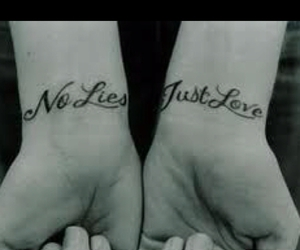 quote, tattoo, and wrist image