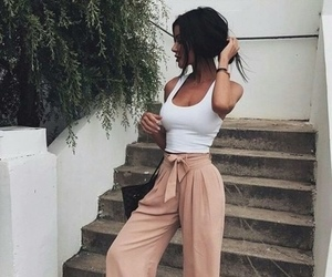 fashion, summer, and woman image