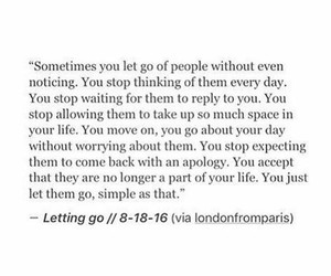 letting go, life, and motivation image