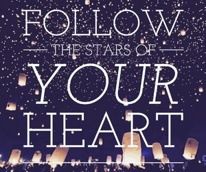 follow, follow your heart, and lanterns image