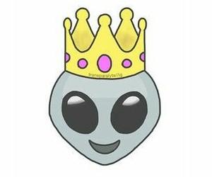 emoji, alien, and overlay image
