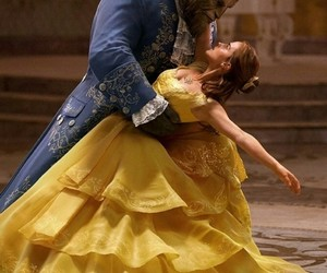 emma watson, beauty and the beast, and disney image