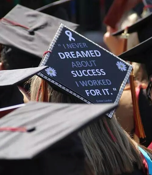 graduation and quote image