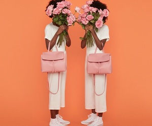 beauty, flowers, and orange image