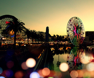 amusement park, art, and beautiful image