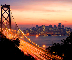 san francisco, bridge, and city image