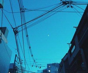 blue, sky, and city image