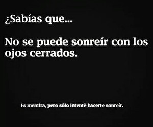 smile, frases, and sabias que image