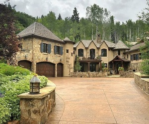 home, luxury, and mansion image