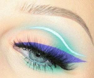 blue, eyes, and beauty+ image