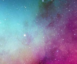 background, galaxy, and lockscreen image