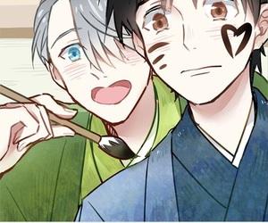 yaoi, viktor nikiforov, and Boys Love image