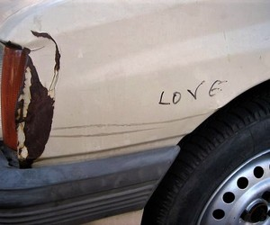 love, car, and grunge image