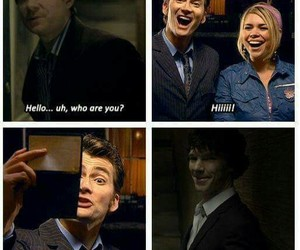 doctor who, sherlock, and wholock image
