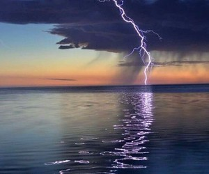 beautiful, clouds, and lightening image