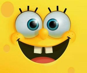 wallpaper, spongebob, and yellow image