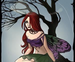 ariel, disney princess, and dark fairy image