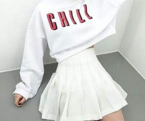 aesthetic, white, and girl image