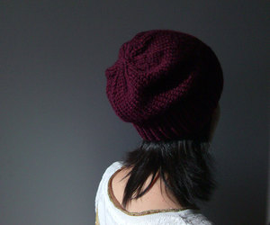etsy, autumn fall, and hand knit hat image