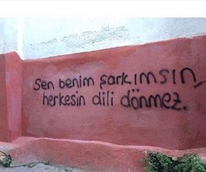 sen, türkçe, and söz image