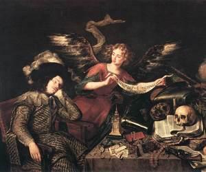 skull and antonio de pereda image