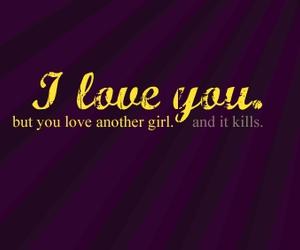 kill, love, and phrase image