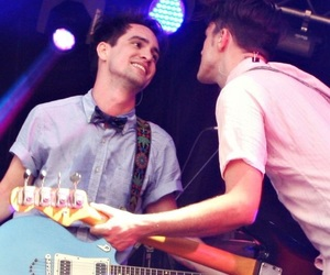 brendon urie, brallon, and panic! at the disco image