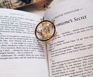 book, harry potter, and hermione image