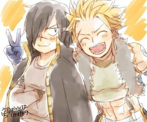 sting eucliffe, fairytail, and rogue cheney image