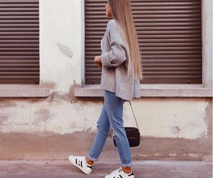 fashion, style, and long hair image