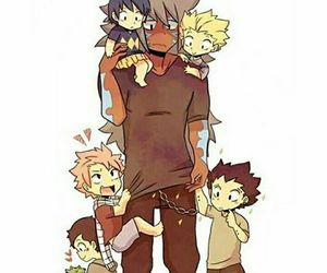 babies, naruto, and Rogue image