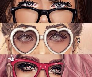 eyes, glasses, and girly_m image