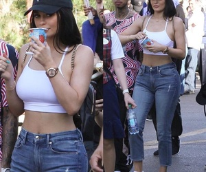 style, tyga, and kylie jenner image