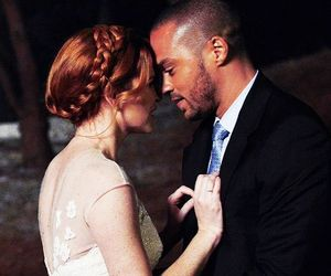 grey's anatomy, japril, and couple image