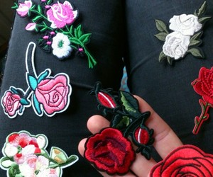 flowers, alternative, and fashion image
