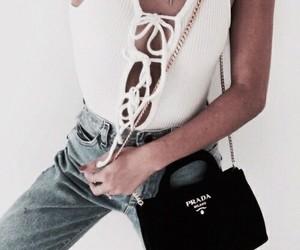 fashion, outfit, and Prada image