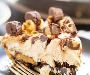 chocolate, cream cheese, and peanut butter image