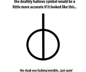 harry potter, deathly hallows, and funny image