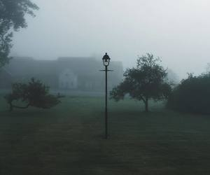 art, cold, and fog image
