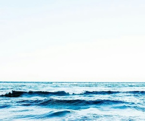 ocean, blue, and background image