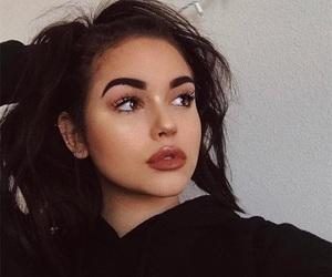maggie lindemann, girl, and makeup image